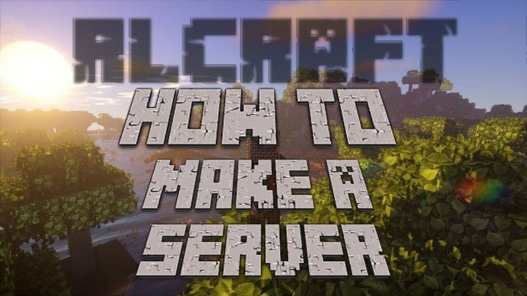 How To Make An RLCraft Server