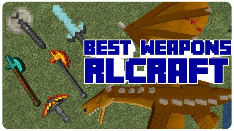 Best Weapons in RLCraft
